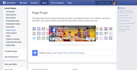 Page Pluginの作成ページ