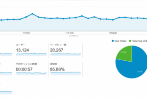 11月のGoogle Analytics