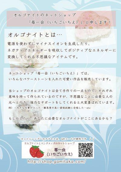 「苺一会(いちごいちえ)」チラシ2