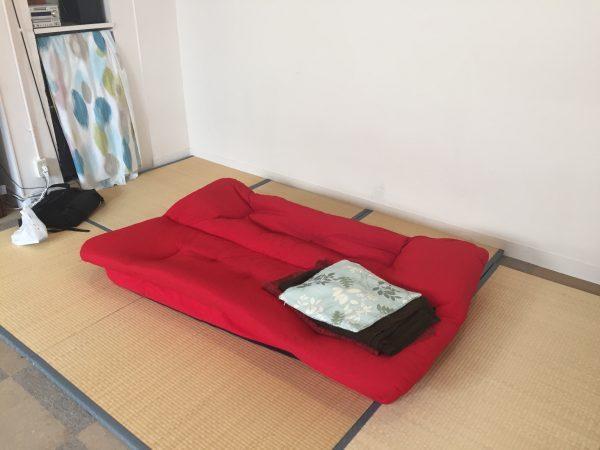 畳スペースを用意していただきました^^